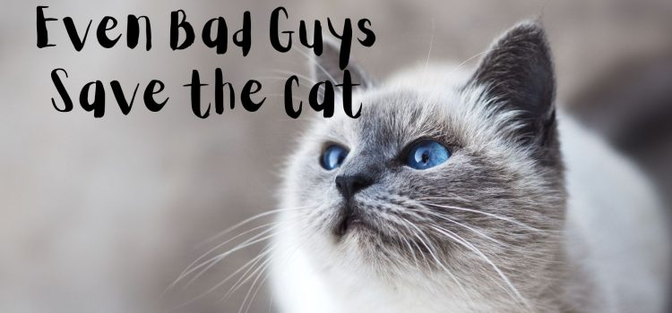 Even Bad Guys Save the Cat