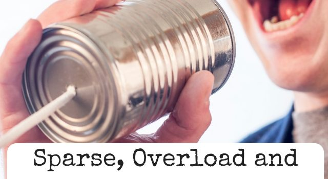 Dialogue: Sparse, Overload and Everything In-Between