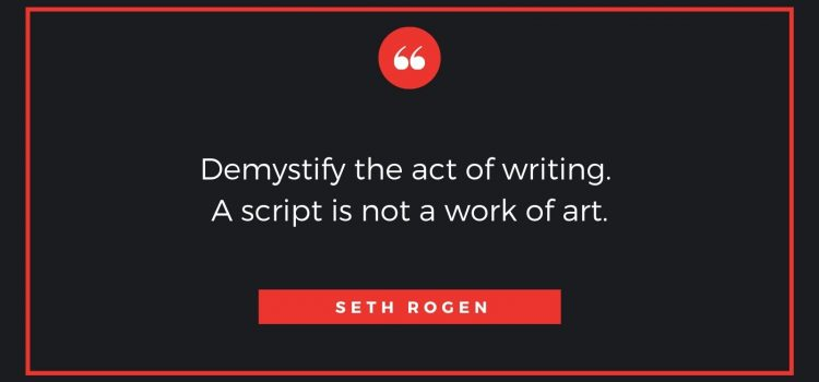 Comedy Screenwriters Seth Rogen and Evan Goldberg Share Their Tips